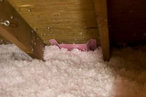 New Insulation installed in Chesterfield attic